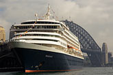 harbor bridge stock photography | Australia, Sydney, Cruise Ship, image id 5-600-1429