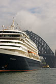 steel arch stock photography | Australia, Sydney, Cruise Ship, image id 5-600-1433