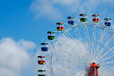 carnival ride stock photography | Australia, Sydney, Ferris Wheel, image id 5-600-1451