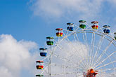 sunlight stock photography | Australia, Sydney, Ferris Wheel, image id 5-600-1453