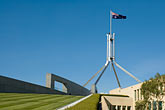 national flag stock photography | Australia, Canberra, Parliament, image id 5-600-1712