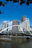river walk stock photography | Australia, Melbourne, Bridge, image id 5-600-2043