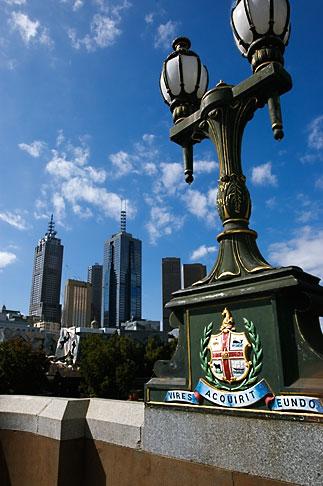image 5-600-2071 Australia, Melbourne, Lamp