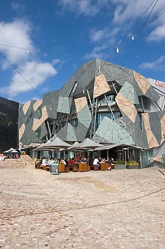 image 5-600-2101 Australia, Melbourne, Federationsquare