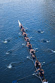 teamwork stock photography | Sport, Rowing on the Yarra River, image id 5-600-2149