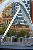 crossing stock photography | Australia, Melbourne, Bridge, image id 5-600-2180