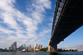 downtown skyscraper stock photography | Australia, Sydney, Sydney Harbour Bridge, image id 5-600-7865