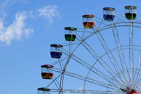 image 5-600-7877 Australia, Sydney, Ferris wheel