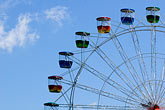 carnival ride stock photography | Australia, Sydney, Ferris wheel, image id 5-600-7877
