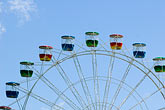 carnival ride stock photography | Australia, Sydney, Ferris wheel, image id 5-600-7878
