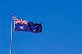 blue sky stock photography | Australia, Canberra, Flag, image id 5-600-8164