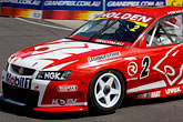 sponsor stock photography | Australia, Melbourne, Race Car, Melbourne Grand Prix, image id 5-600-8356