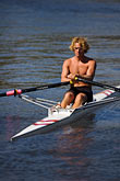 solo stock photography | Sport, Rowing on the Yarra River, image id 5-600-8475