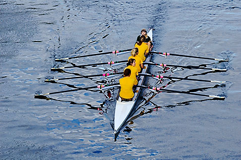 image 5-600-8601 Sport, Rowing on the Yarra River