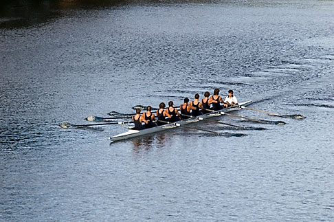 image 5-600-8625 Sport, Rowing on the Yarra River