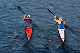 overview stock photography | Australia, Melbourne, Kayaks, image id 5-600-8653