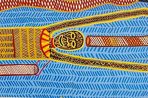 image 5-600-8943 Australian Art, Adelaide Festival Centre, Aboriginal mosaic