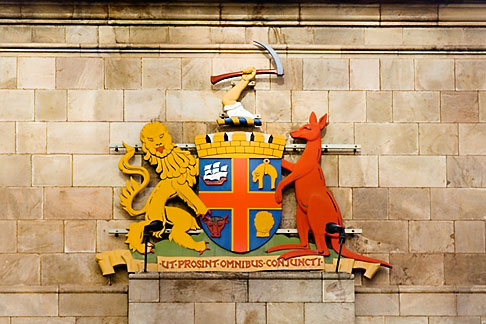 image 5-600-8999 Australia, Adelaide, Coat of arms