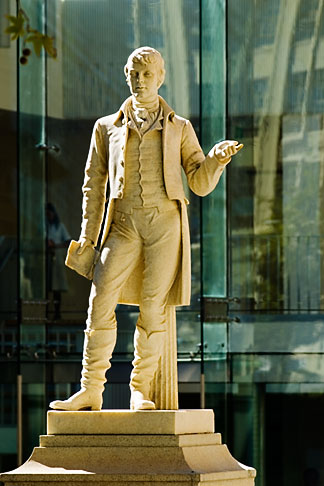image 5-600-9226 Australia, Adelaide, Statue, University of Adelaide