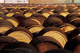 round stock photography | Barbados, Bridgetown, Rum barrels, image id 0-200-49