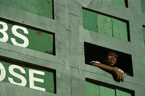 image 0-204-61 Barbados, Bridgetown, Cricket scoreboard, Kensington Oval