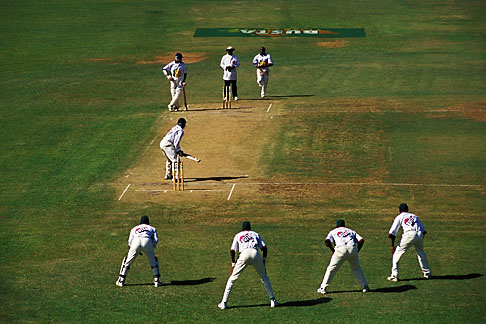 image 0-205-63 Barbados, Bridgetown, Cricket match, Kensington Oval