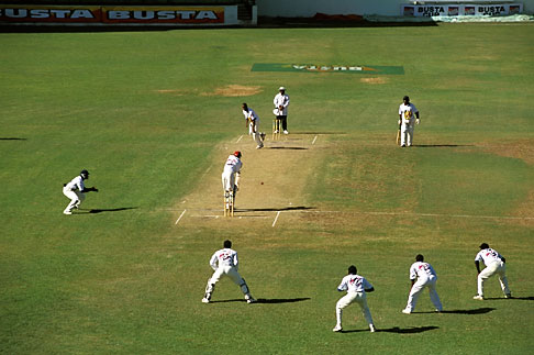 image 0-205-67 Barbados, Bridgetown, Cricket match, Kensington Oval