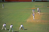 bowler stock photography | Barbados, Bridgetown, Cricket match, Kensington Oval, image id 0-205-74