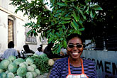 smiling woman stock photography | Barbados, Bridgetown, Cheapside Market, image id 0-206-31
