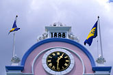 timepiece stock photography | Barbados, Bridgetown, Da Costa Building, 1898, image id 3-386-77