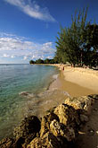 rock islands stock photography | Barbados, Holetown, Coral Reef Club, beach, image id 3-388-46