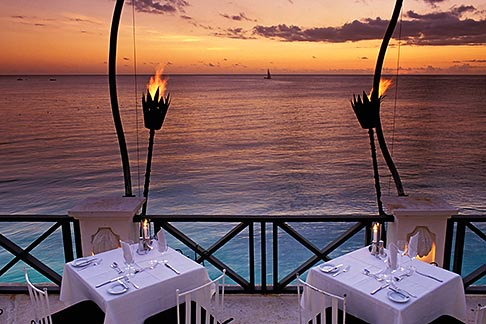 image 3-480-63 Barbados, St James, The Cliff restaurant
