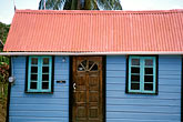 front door stock photography | Barbados, Speightstown, Chattel House, image id 3-481-28