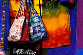 fabric bags stock photography | Barbados, Christ Church, Hastings, fabrics, image id 3-482-18