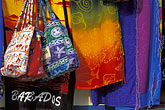 market stall stock photography | Barbados, Christ Church, Hastings, fabrics, image id 3-482-19