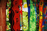 handicraft stock photography | Barbados, Colorful fabrics, image id 3-482-23