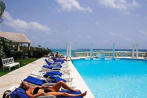 image 3-482-36 Barbados, St Philip, Crane Hotel, pool