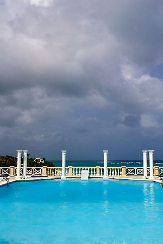 image 3-482-43 Barbados, St Philip, Crane Hotel, pool