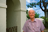 senior man stock photography | Barbados, St. Peter, St. Nicholas Abbey, Lt. Col Stephen Cave, image id 3-482-85