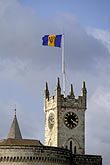 flag stock photography | Barbados, Bridgetown, Parliament Buildings, image id 3-485-2
