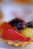 creamy stock photography | Food, Fruit tart, image id 3-494-58