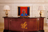 lobby stock photography | Barbados, St. James, Sandy Lane hotel, concierge, reception, image id 3-496-37