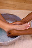 feet stock photography | Barbados, St. James, Sandy Lane spa, massage, image id 3-496-7