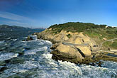 aerial view of lands end stock photography | California, San Francisco, Aerial view of Land