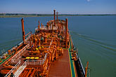 "horizontal stock photography | California, San Francisco Bay, Tanker ""Gaz Master"", San Joaquin River, image id 1-490-80"