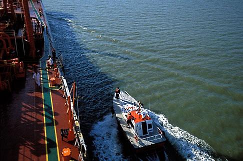 image 1-490-83 California, San Francisco Bay, Tanker Gaz Master, San Joaquin River