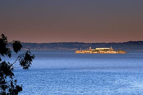 image 1-70-65 California, San Francisco, Alcatraz from Crissy Field