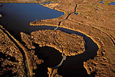 shore stock photography | California, San Francisco Bay, Coyote Hills Regional Park, aerial view, image id 1-770-3