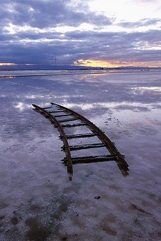 image 1-770-48 California, San Francisco Bay, Salt evaporation ponds near Newark