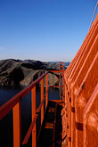 cable stock photography | California, San Francisco, Golden Gate Bridge from South tower, image id 1-81-90